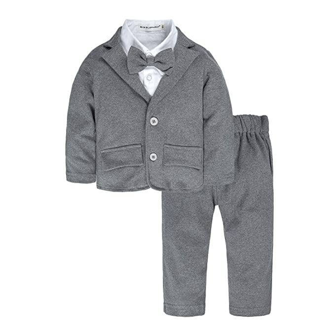 Amazon.com: Big Elephant - Traje de esmoquin para bebé y ...