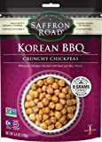 Saffron Road Crunchy Chickpeas, Korean BBQ, 6 Ounce