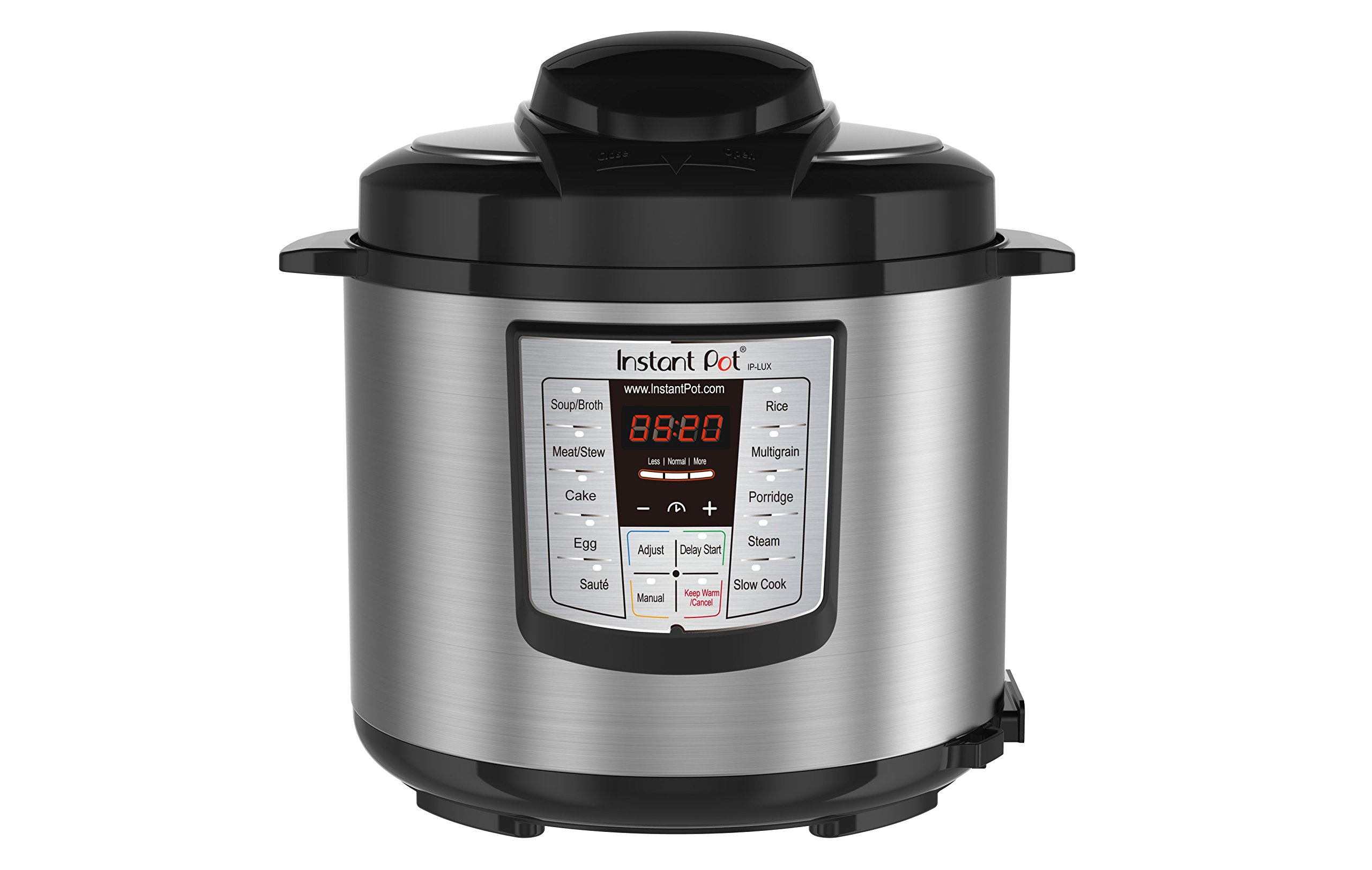 Instant Pot IP-LUX60 V3 Programmable Electric Pressure Cooker, 6Qt, 1000W by Instant Pot (Image #1)