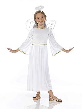 Generique - Disfraz ángel del Cielo niña 10-12Años (145 ...