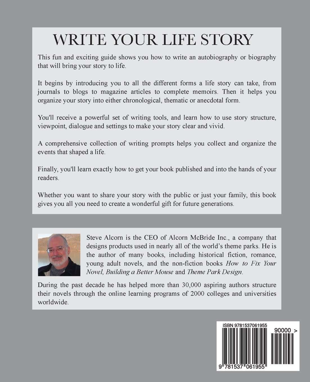 how to write a future autobiography