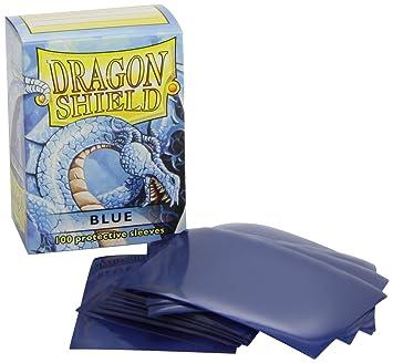 Pegasus Arcane Tinmen 10003 Dragon Shield - Fundas Protectoras para Cartas coleccionables (100 Unidades), Color Azul