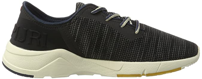 Napapijri Footwear Herren Optima Sneakers, Schwarz (Black