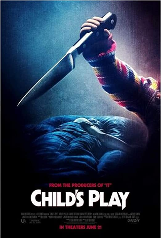 "CHILDS PLAY Movie Poster Horror Chucky Silk Fabric Movie Poster 24/""x36/"""