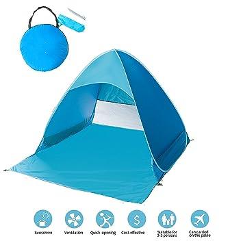 Automatic Pop up Instant Portable baby Cabana Beach Tent Anti UV Beach Shade Sun Shelter  sc 1 st  Amazon.com & Amazon.com: Automatic Pop up Instant Portable baby Cabana Beach ...