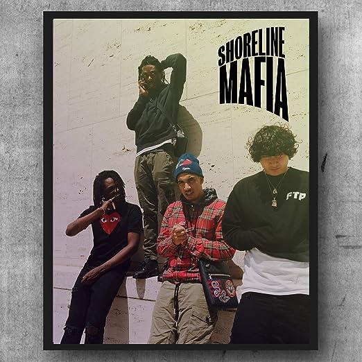 Shoreline Mafia  Hip Hop Rap Rapper Star 20x20 24x24 Poster B-115