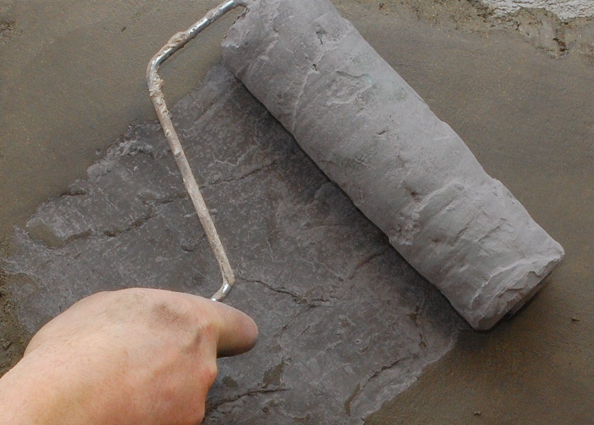 Tru Tex Roller Sleeve | Texture Roller for Concrete - Classic Slate