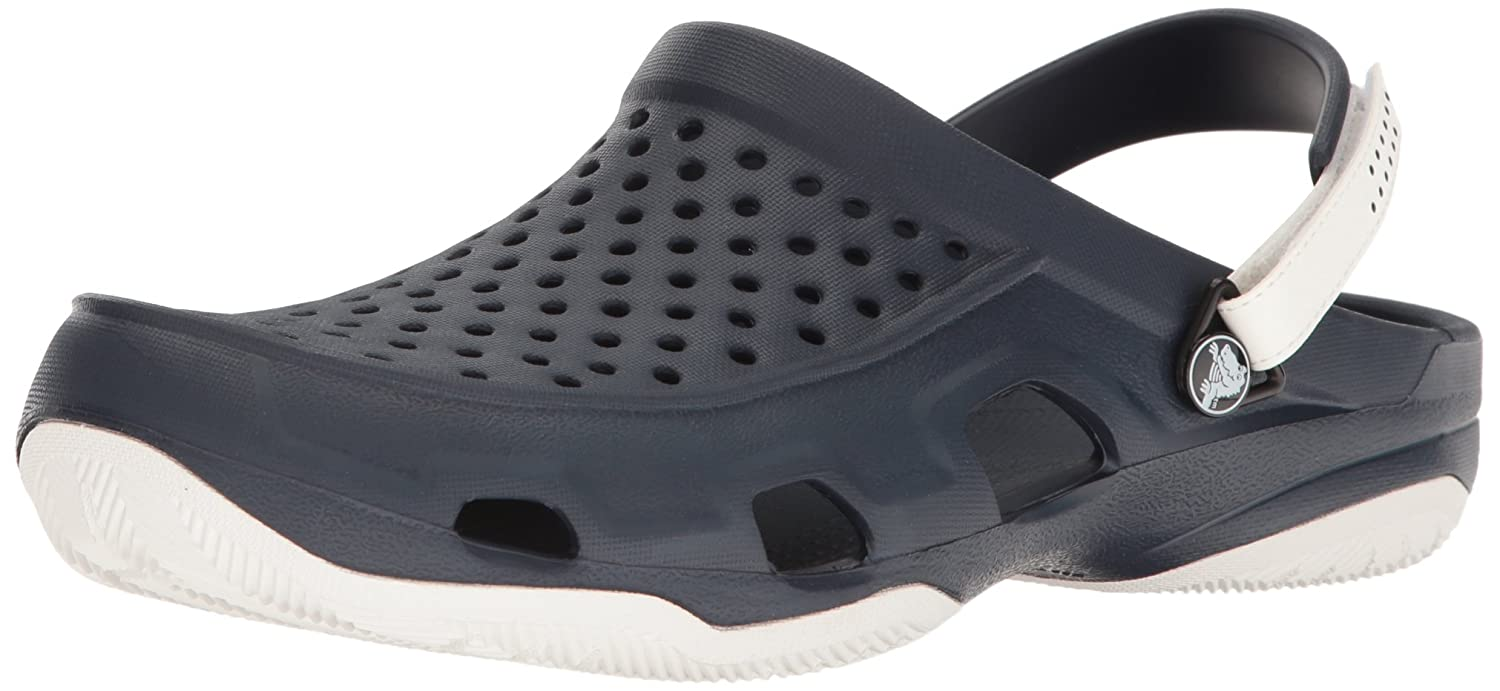fe4bfe1d1667a Crocs Swiftwater Deck Men Clog in Brown  Buy Online at Low Prices in India  - Amazon.in