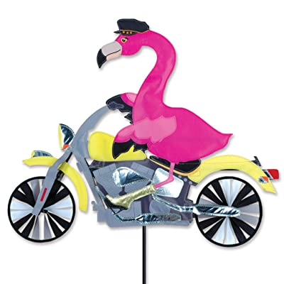 Premier Kites Flamingo Motorcycle Spinner : Kites : Garden & Outdoor