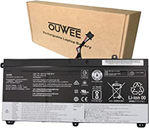 OUWEE 45N1742 Laptop Battery Compatible with Lenovo ThinkPad T550 T550s T560 W550 W550s P50S Series Notebook 45N1740 45N1741 45N1743 SB10K12721 00NY639 11.4V 44Wh 3900mAh