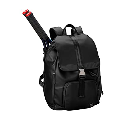 Wilson Fold Over Backpack BK Mochila Negro -