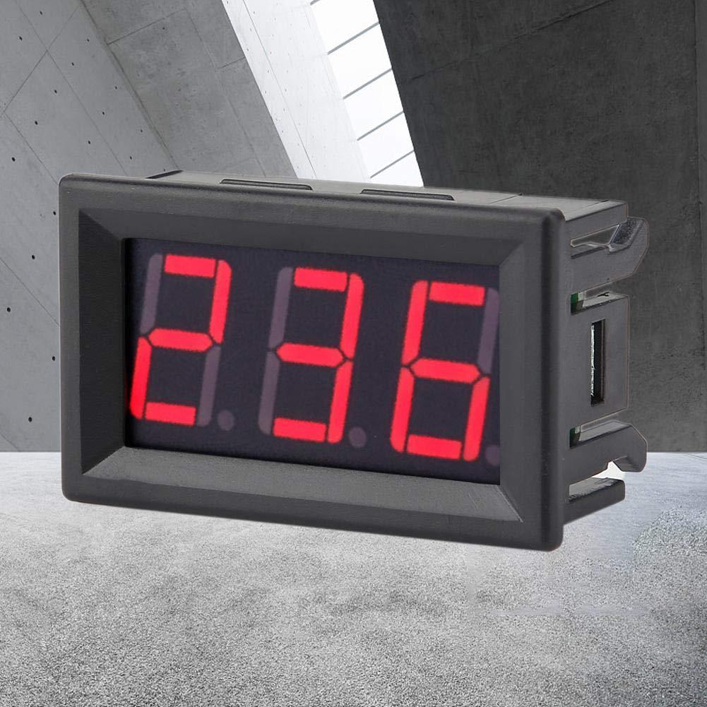 AC 70-380V Volt/ímetro Digital de Dos-Hilos Medidor de Voltaje de Pantalla LED Digital Rojo
