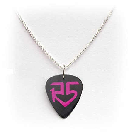 necklace personalized guitar pick mens