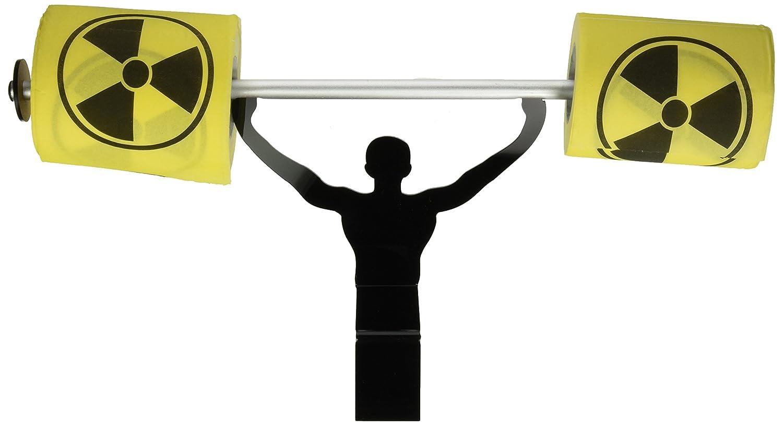Fairly Odd Novelties Toxic Hazardous Toilet Paper with Strong Man Holder Gift Set