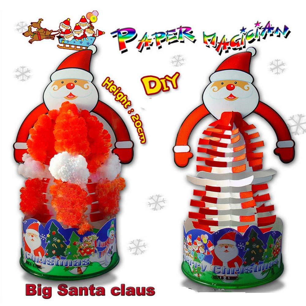 正規代理店 Ugood B07KC36F6F クリスマスペーパーツリーのおもちゃ 素晴らしいサプライズのおもちゃ Ugood 花のクリエイティブでカラフルなマジックで育った木のおもちゃ B07KC36F6F, 福知山市:117cc924 --- a0267596.xsph.ru