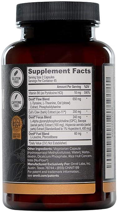 Amazon.com: ONNIT Alpha Brain – Más de 1 millón de botellas ...