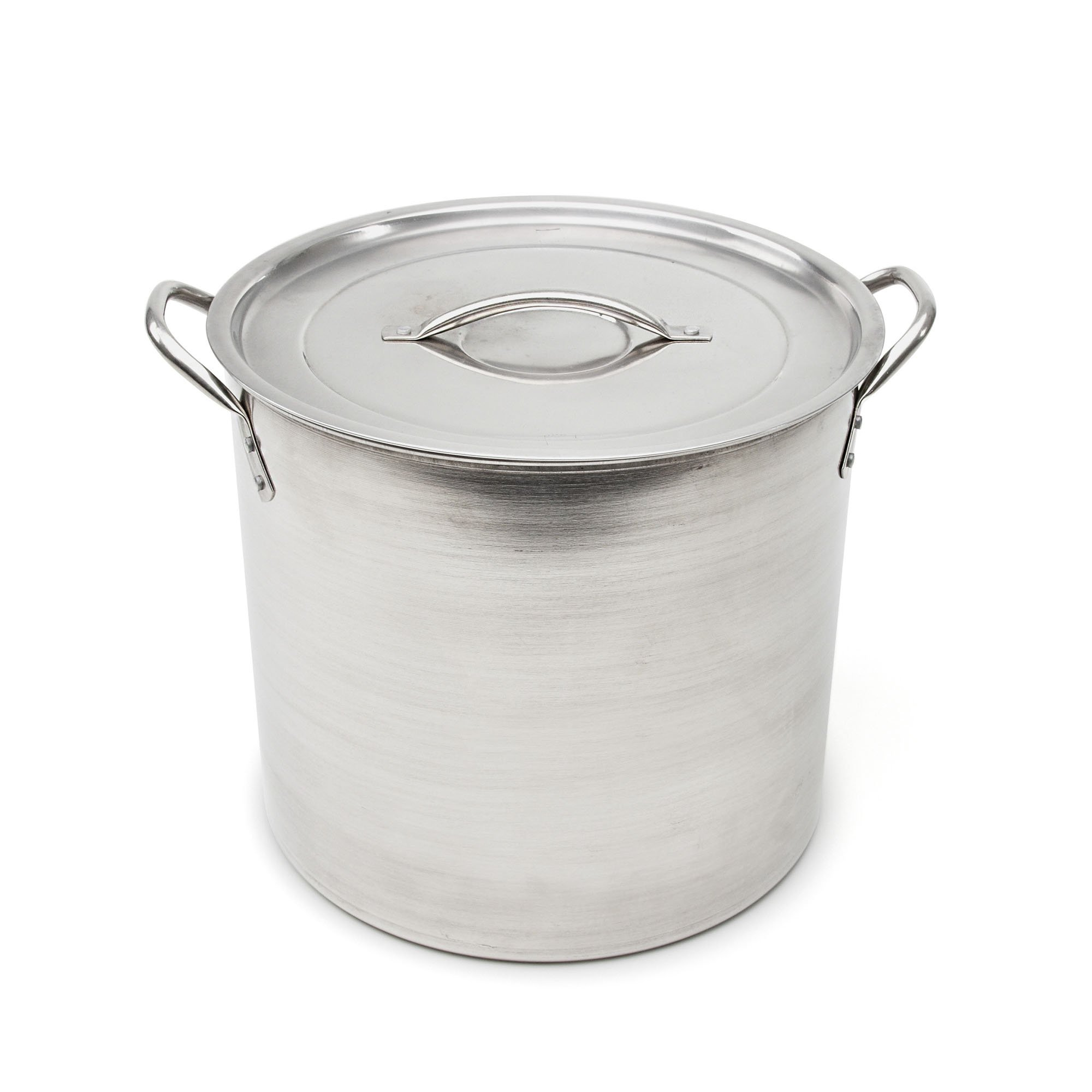 Good Cook 06182 Kitchen Basics Stainless Steel Stock Pot with Stainless Lid, 16 quart, Silver