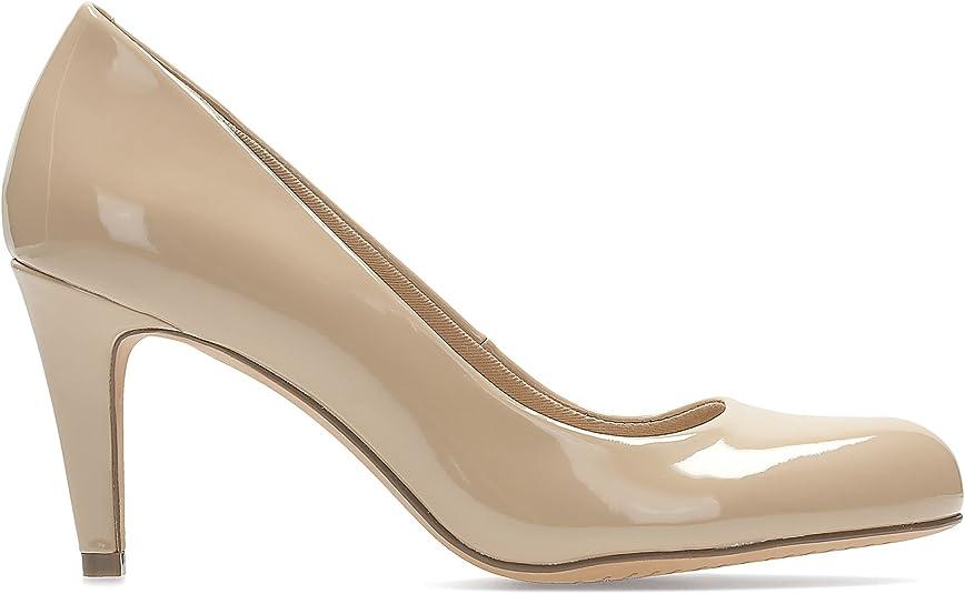 TALLA 38 EU. Clarks Carlita Cove - Zapatos de Tacón para Mujer