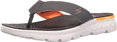 Asesorar Groenlandia Monarquía  Amazon.com   Skechers Performance Men's On The Go 400 Flip Flop   Sandals