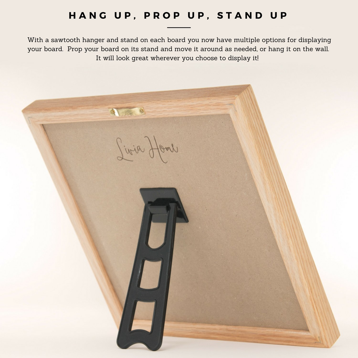 Amazon.com : Letter Board with Stand - Black Felt Sign with 326 ...