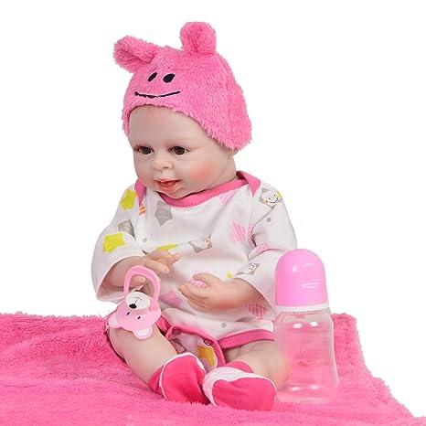 Reborn Baby Se Puede Lavar: 42 Cm Reborn Baby Simulación ...