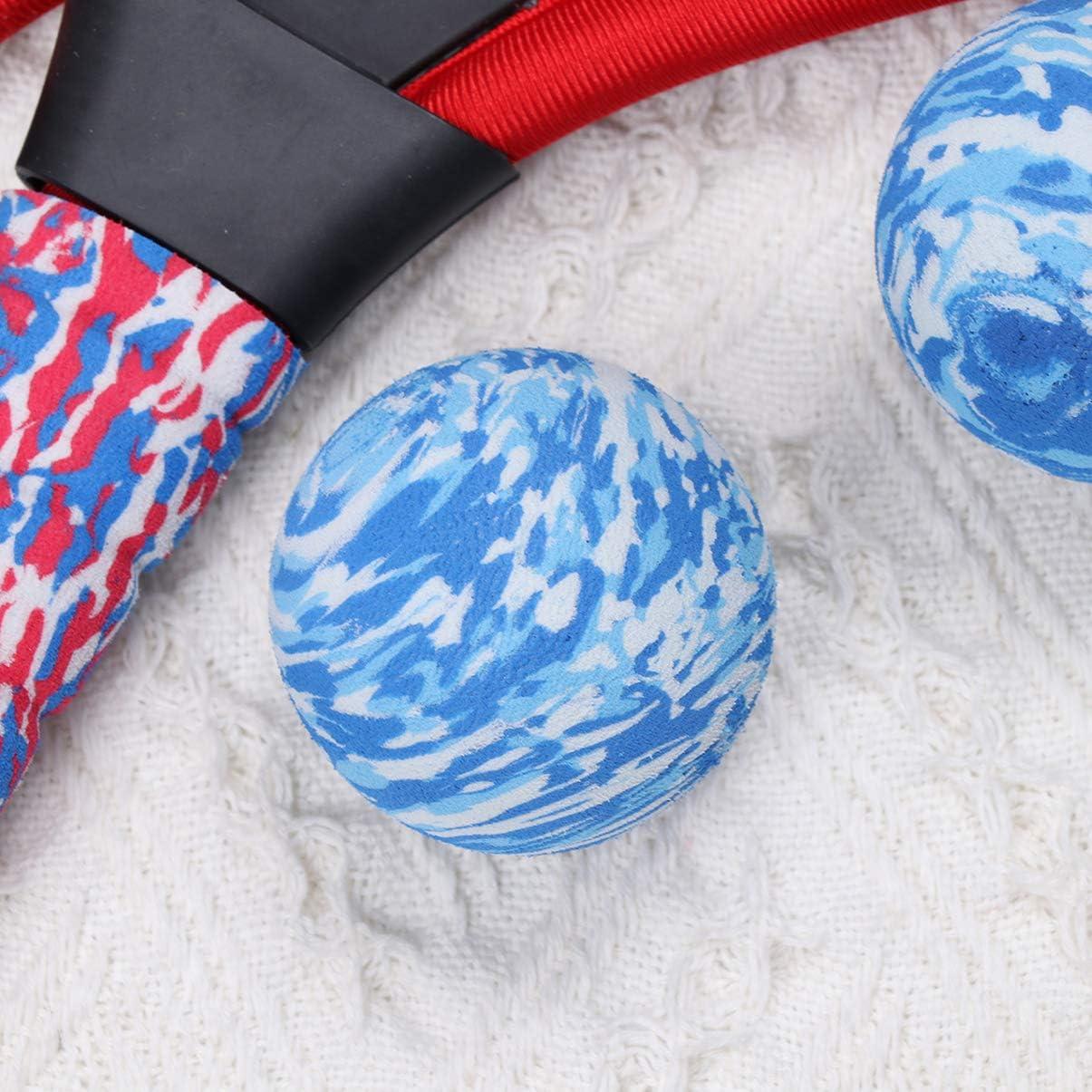 Bolas de Disco Y B/ádminton para Jugar en El Patio Trasero del Jard/ín de La Playa None Juegos de Raquetas de Tenis Juegos de Raquetas de Tenis para Ni/ños Livianos Y Seguros