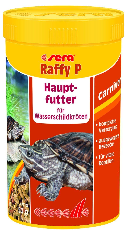 sera raffy P das Hauptfutter für Wasserschildkröten - schmackhaften schwimmenden Futtersticks für die tägliche Fütterung 1er Pack (1 x 10 l) - 43259 Aquarien Aquaristik