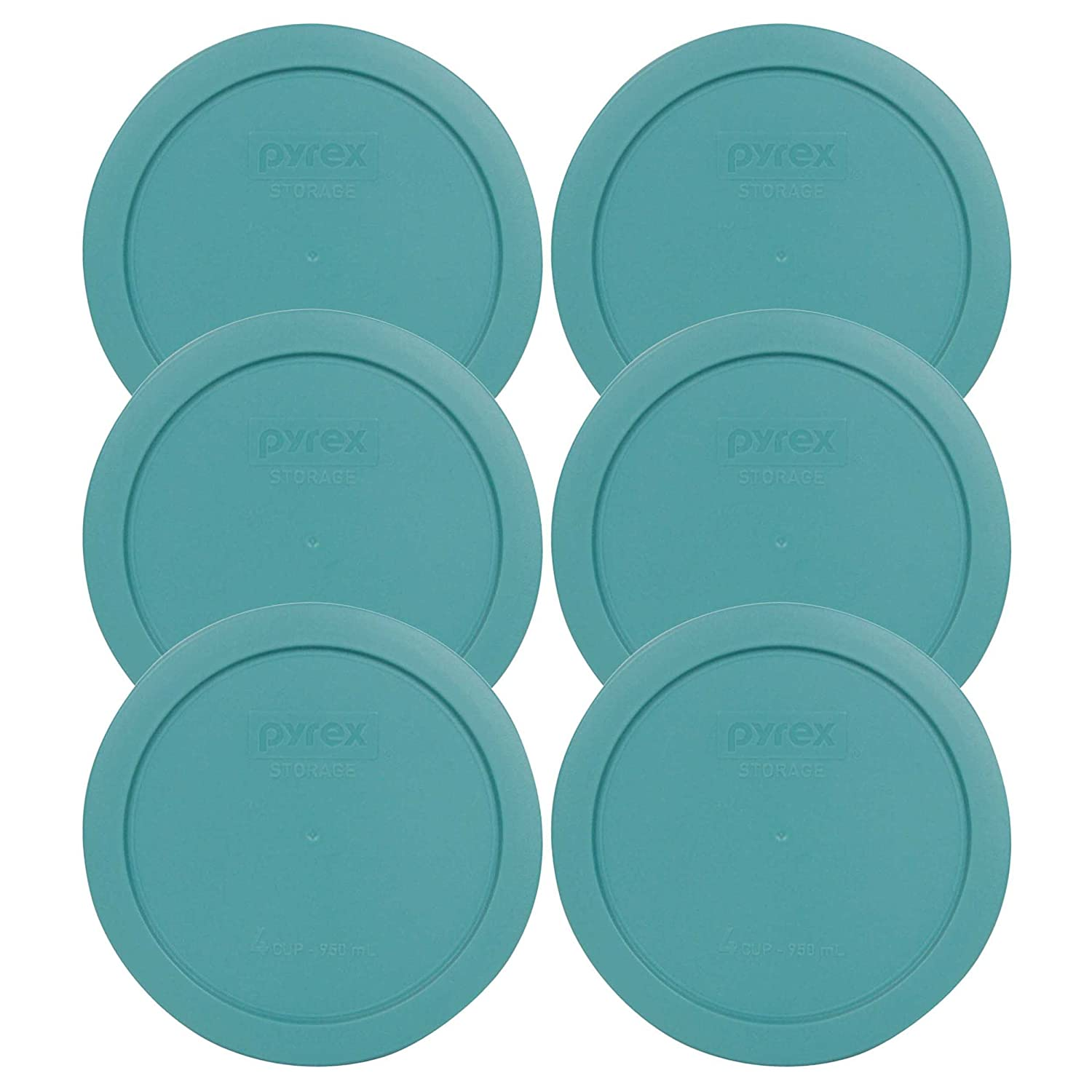 Pyrex Bondi 4 Cup Round Plastic Cover #7201-PC (container not included) by Pyrex