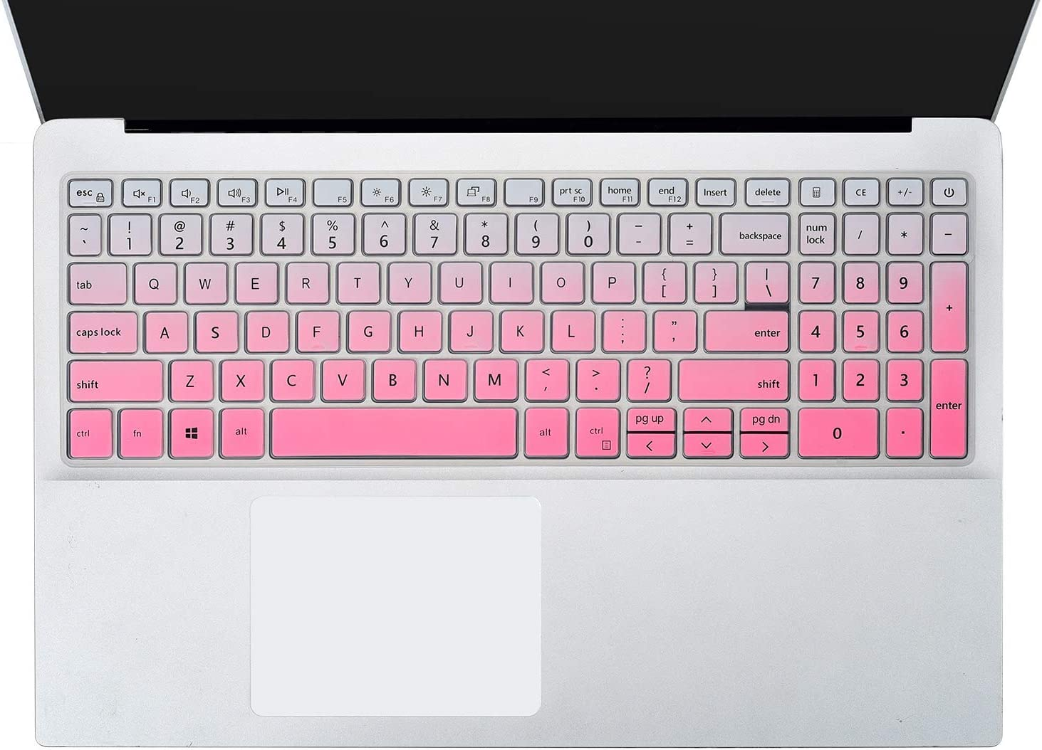 Keyboard Cover Skins Compatible with Dell Inspiron 15 3000 3505 3502 3501 /Dell Inspiron 15 5000 5584 5590 5593 5598 5508 5501/ Dell Vostro 15 7590 5590 Keyobard Protective Skin