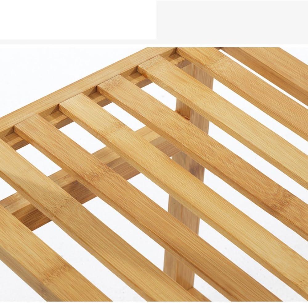 Perchero tipo armario simple de madera maciza de bambú perchas de lijado para dormitorio estante de almacenamiento 90 cm x 30 cm x 145 cm: Amazon.es: Bebé
