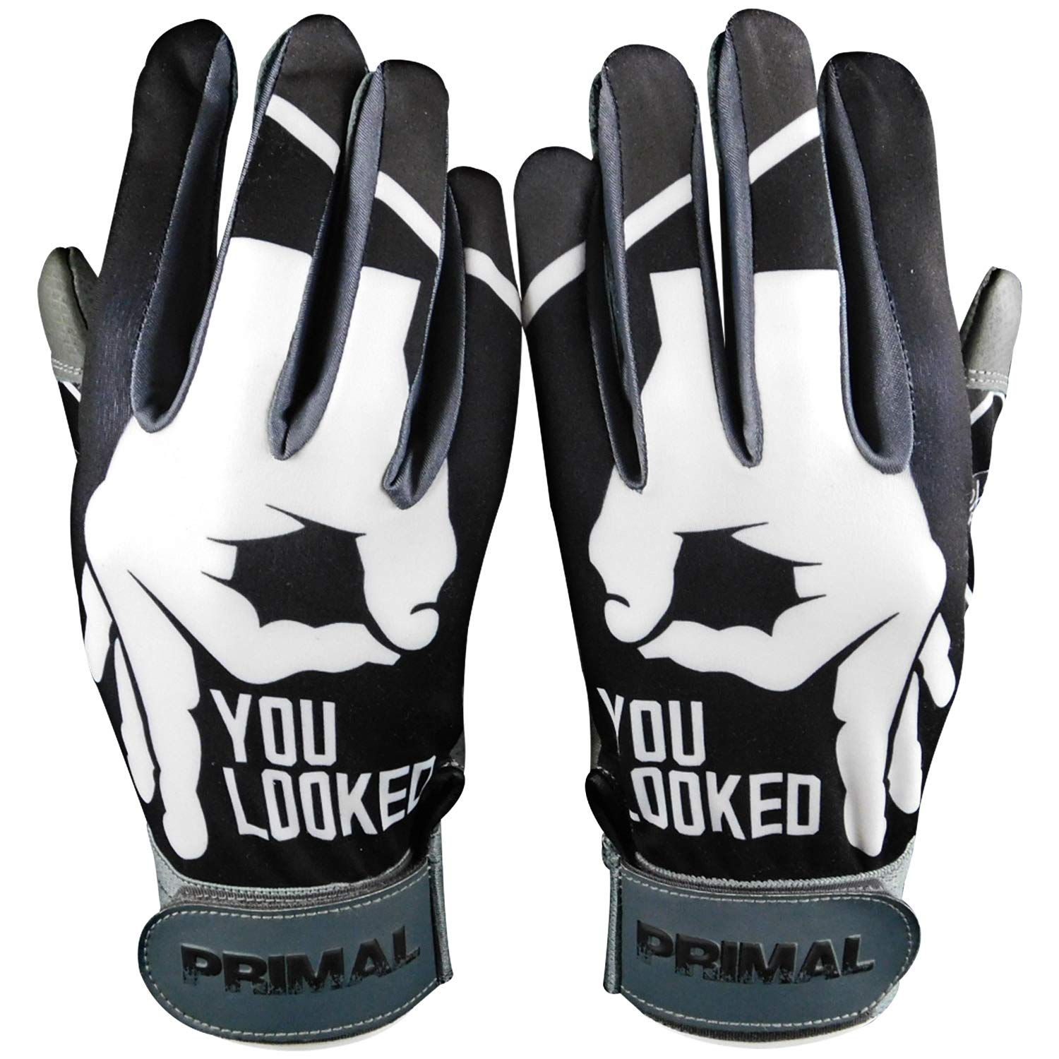 C1COOP You Looked Baseball Batting Gloves (Adult Small)