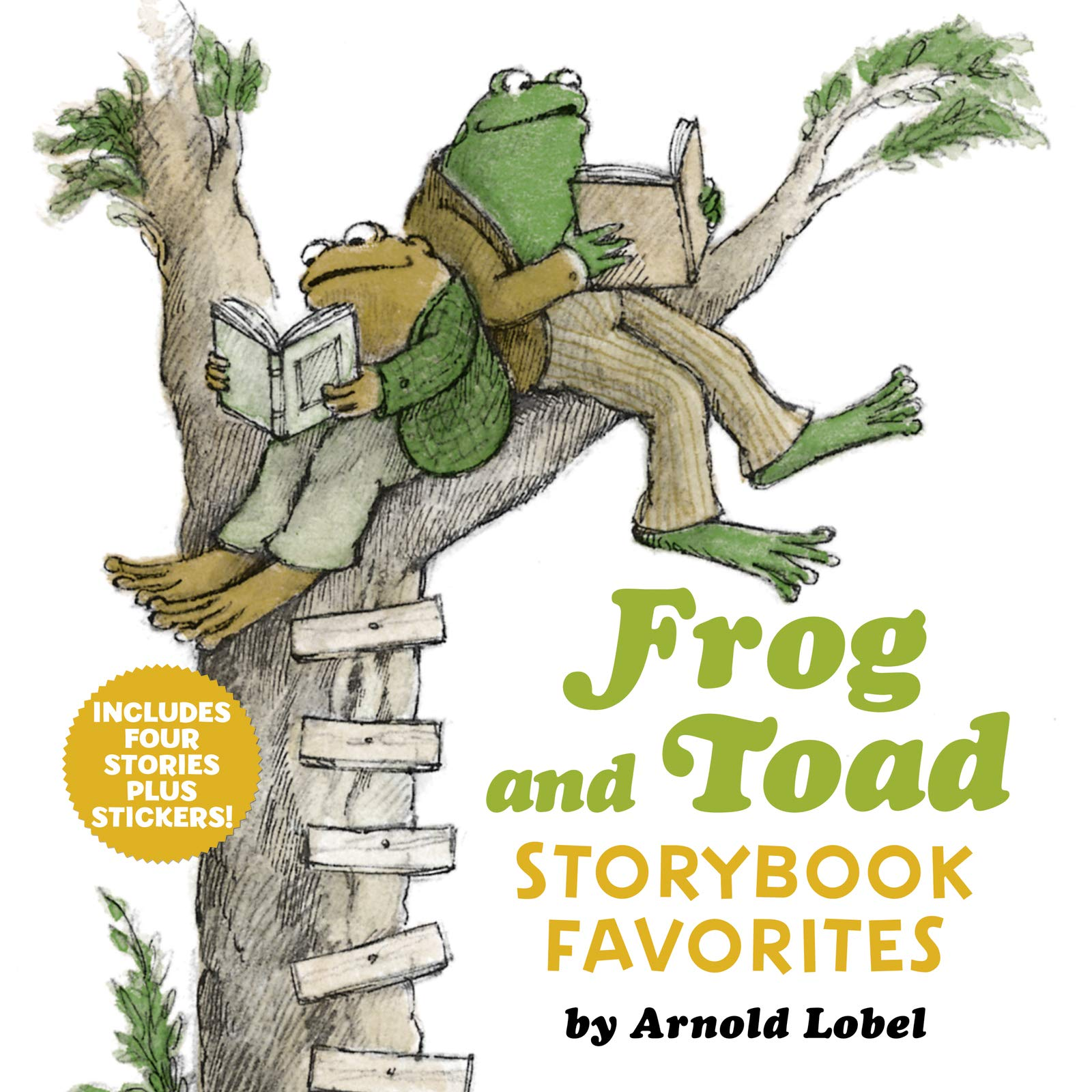 Frog Toad Storybook Favorites Stickers product image