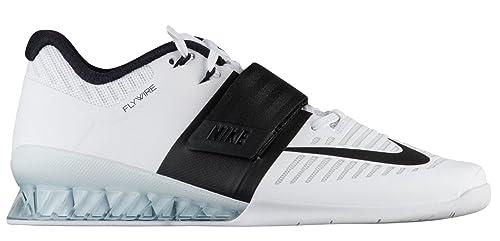 Nike Romaleos 3, Zapatillas de Gimnasia Unisex Adulto, Blanco (White/Black 101), 48.5 EU: Amazon.es: Zapatos y complementos