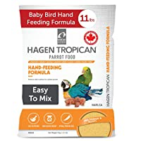 Tropican Baby Bird Food, Parrot Food, Complete Nutrition Diet, Hand-Feeding Formula...