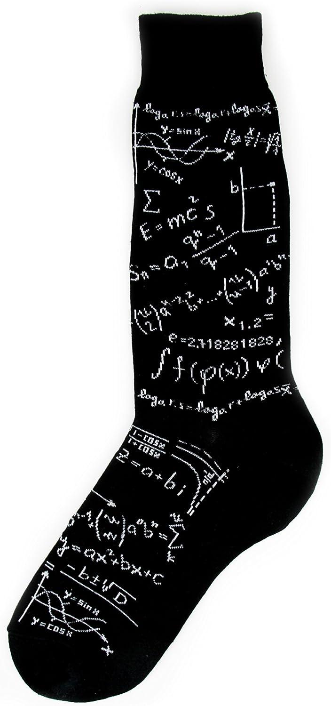 Foot Traffic, Men's Education-Themed Socks, Gifts for Teachers, Men's Sizes 7–12