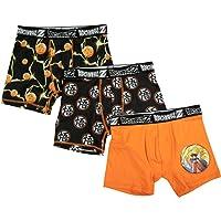 Bioworld Dragon Ball Z Boxer Brief 3-Pack Underwear for Boys