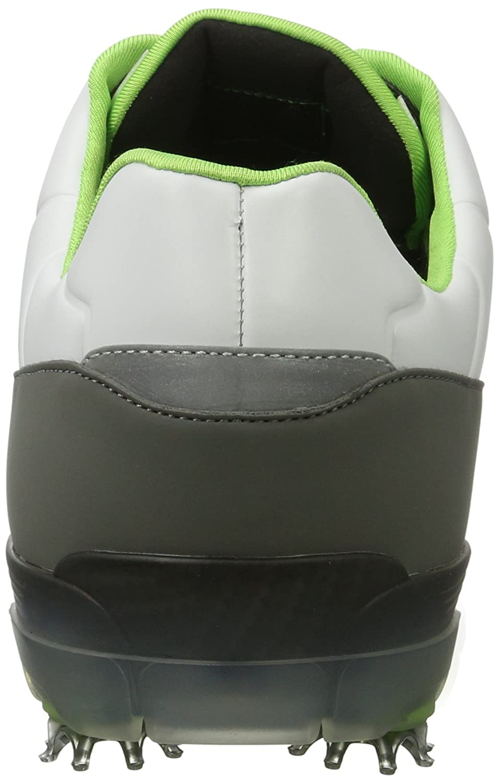Boss Green Light Fairway 10189900 01, Zapatillas de Golf para Hombre, Blanco (White 100), 40.5 EU (6.5 UK)