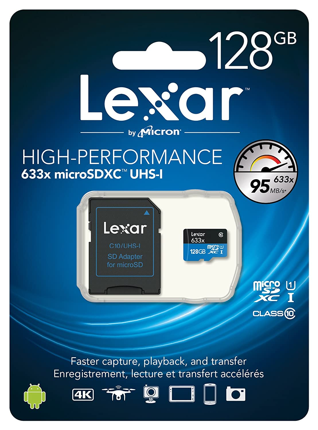 [Amazon Canada]Lexar High-Performance microSDXC 633x 64GB UHS-I Card w/SD Adapter 24.99$ OR PM with BB