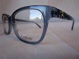 BEBE EYEGLASS FRAME WISH BB5139 042 SAPPHIRE CLEAR BLUE 54-16-135