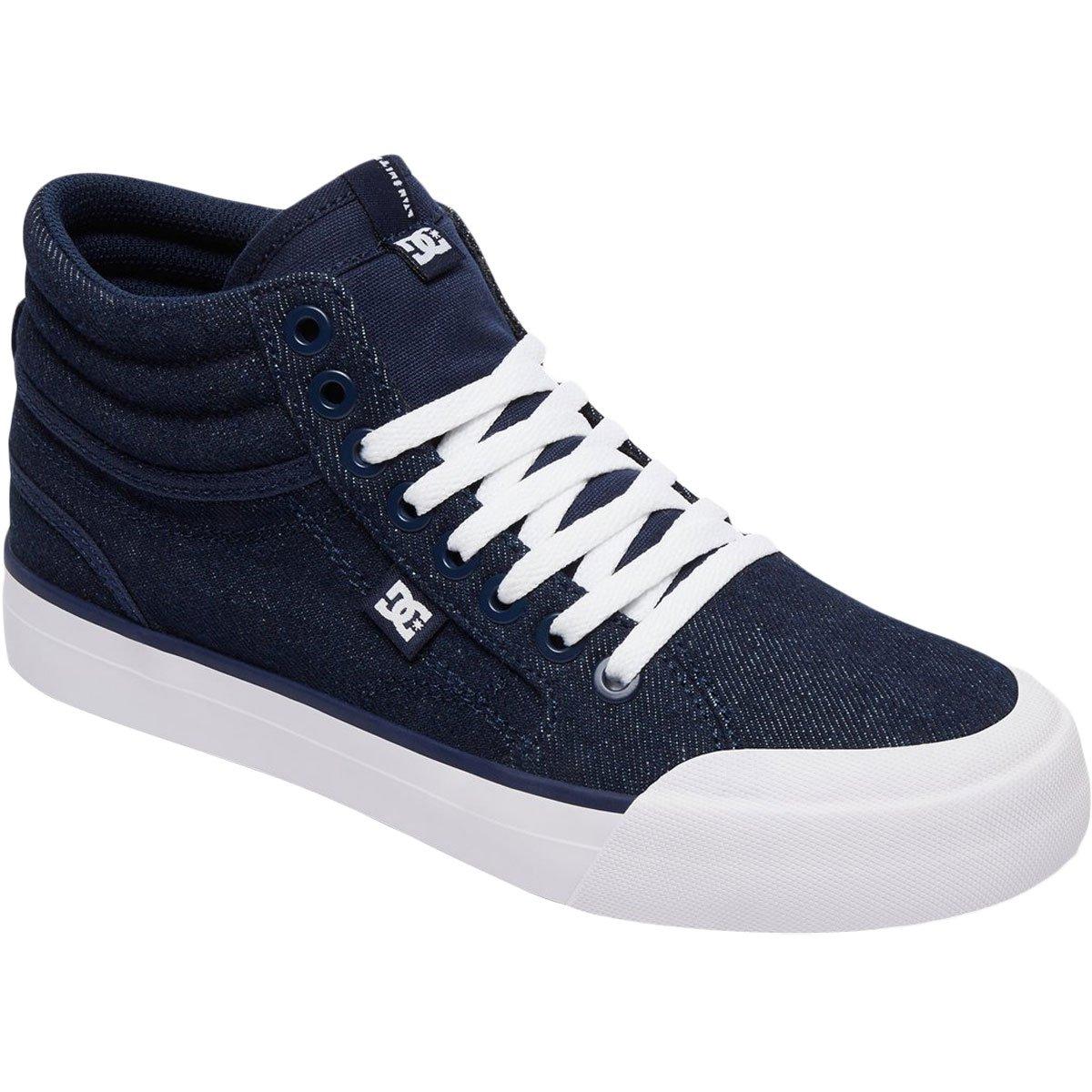 DC Women's Evan Hi Tx Se W Skate Shoe B07597NW34 6 B B US|Navy/Navy