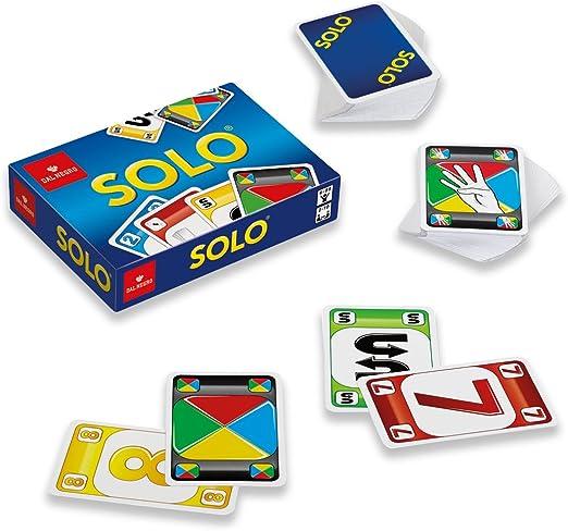 Dal Negro 53401 Solo - Juego de Cartas: Amazon.es: Juguetes y juegos