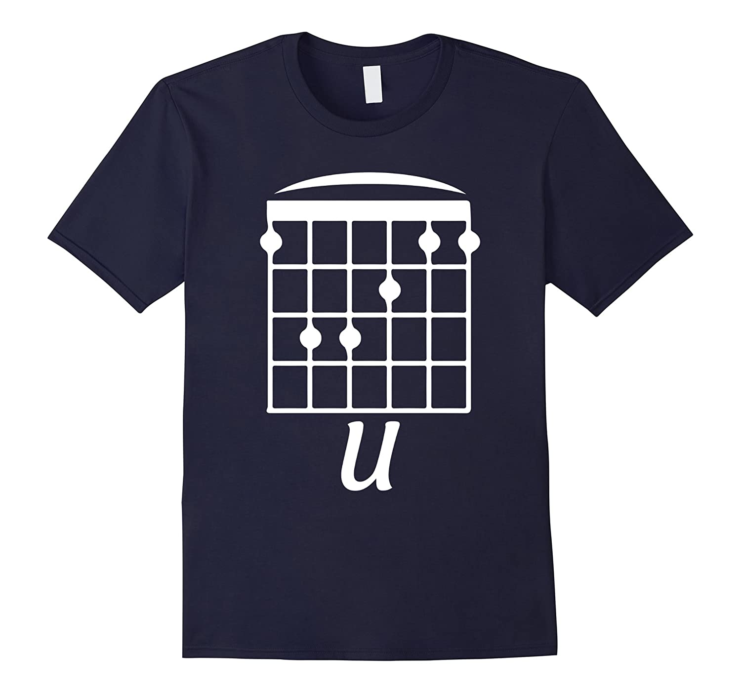F U F Chord Funny Guitar t shirt-CD