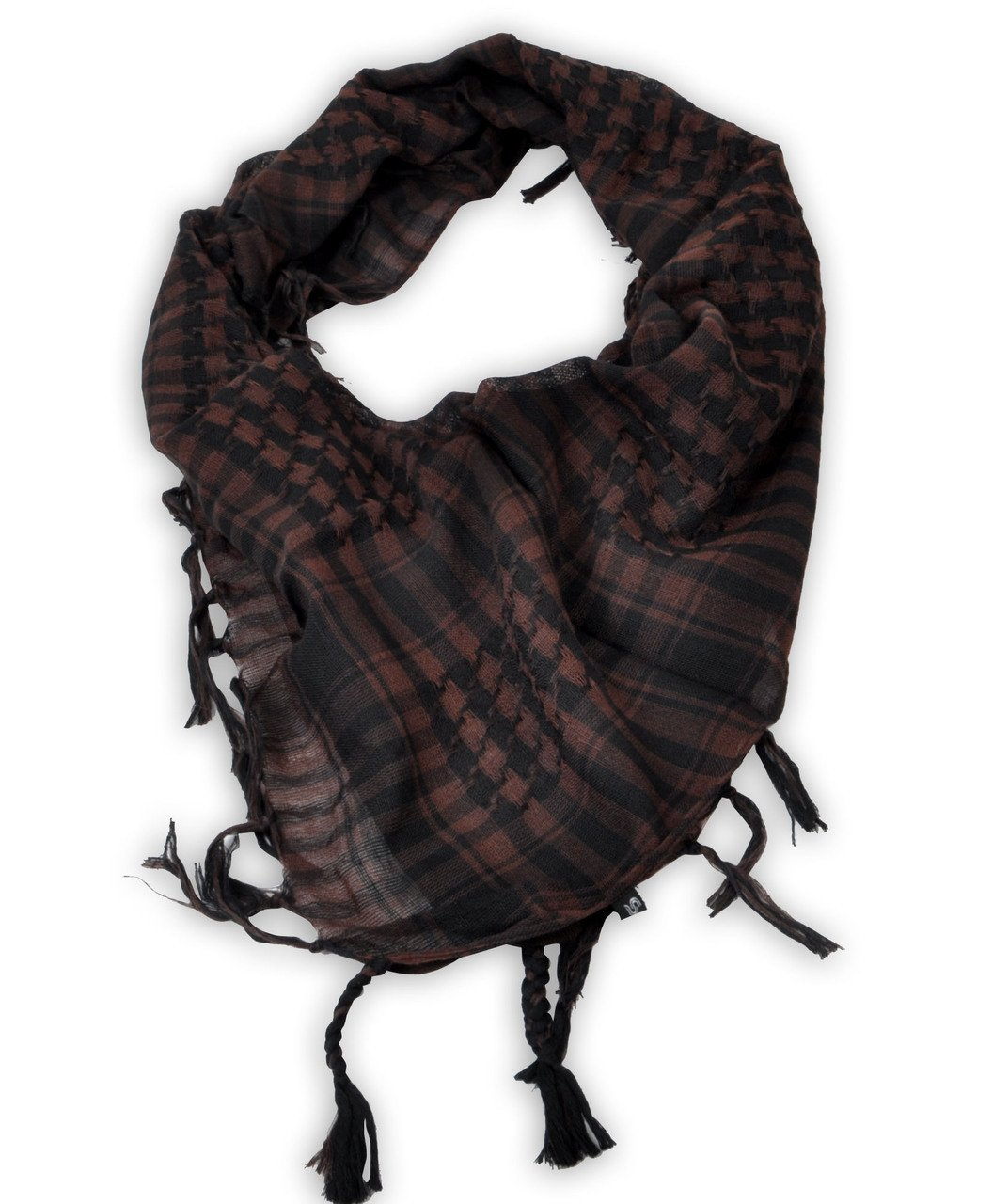 Houndstooth Plaid Pattern Scarves Shemagh
