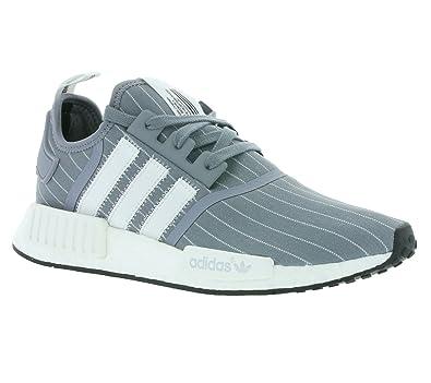 Adidas NMD_R1 Bedwin Schuhe Sneaker Neu (EUR 45 Grau)