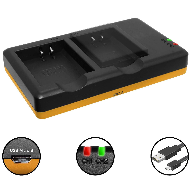 Batería + Cargador doble (USB) para LP-E10 / Canon EOS 1100D ...