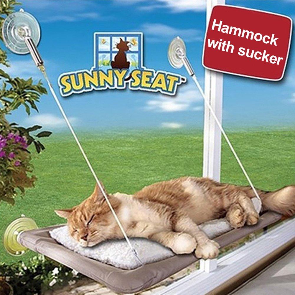 Tookie Hamaca para gato con ventana, para perca, para asiento de sol: Amazon.es: Productos para mascotas
