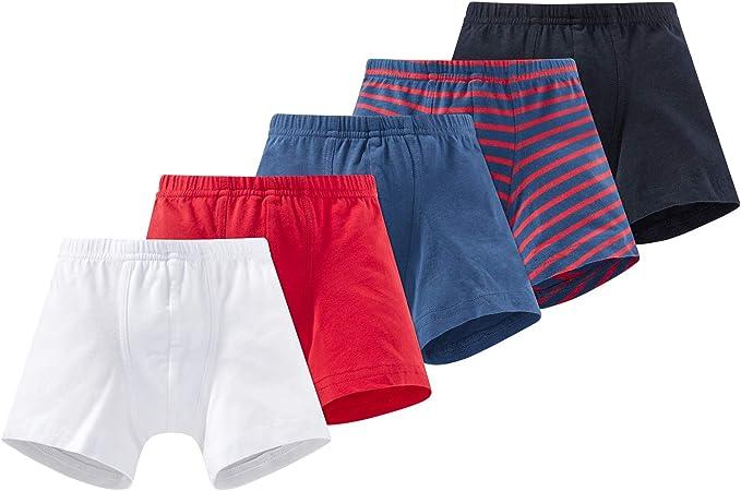 Schiesser Pantalones Cortos (Pack de 5) para Niños: Amazon.es: Ropa y accesorios