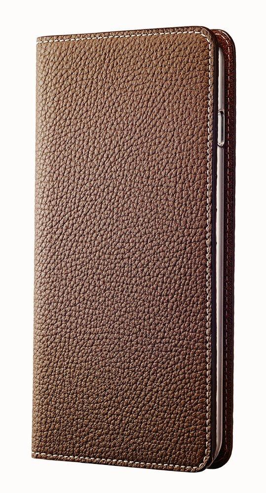 [BLACK FRIDAY 50%OFF] BONAVENTURA iPhone 6s Plus / iPhone 6 Plus Leather Flip Wallet Cover Case (Perlinger Full-Grain Leather) [iPhone 6 Plus / 6s Plus | TAUPE]