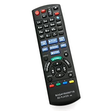 amazon com n2qayb000719 replacement remote control fit for rh amazon com Panasonic DMP- BDT210 Panasonic DMP-BDT220 Blu-ray