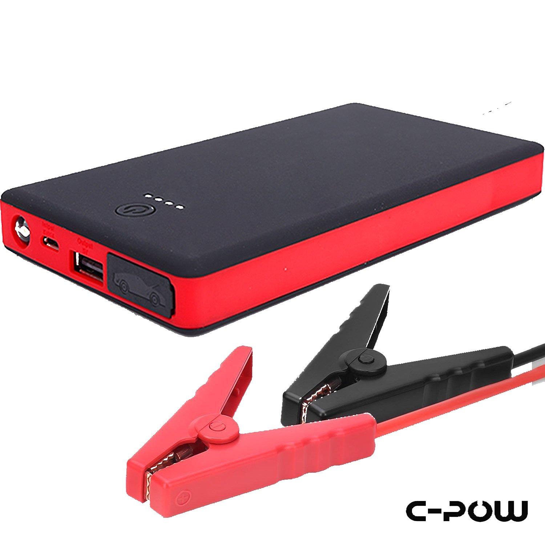 C-POW Multi-Function Portable Jump Starter booster 8000mAh